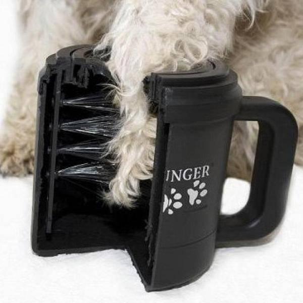 Как работает лапомойка paw plunger для собак, где её купить