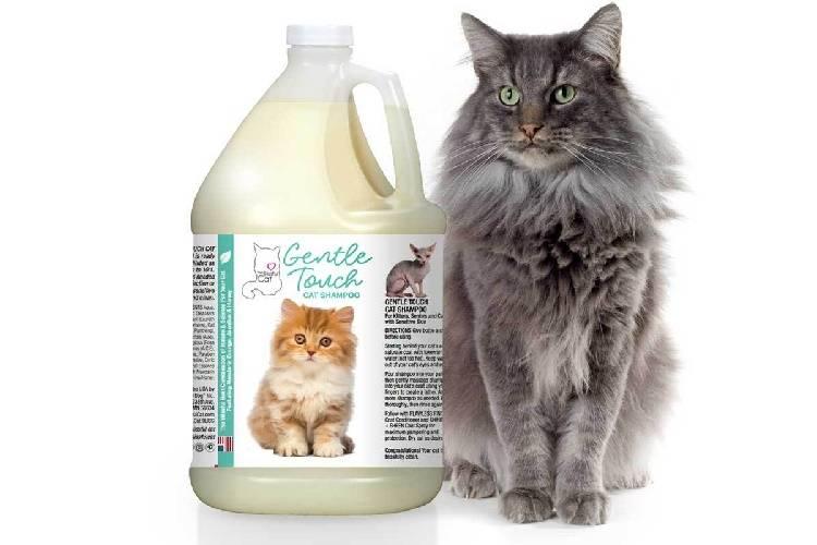 Шампунь для кошек и котят от выпадения шерсти