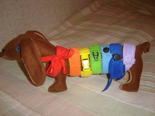 Игрушки для собак своими руками | как сделать, фото, выкройка
