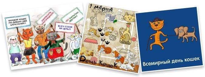 Какого числа отмечают день кошек? история и традиции праздника, интересные факты