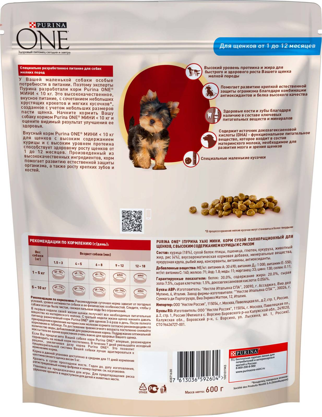 Корм пурина ван (purina one) для кошек