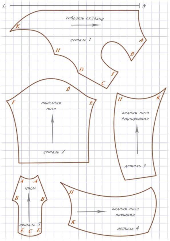 Одежда для таксы: выкройки и описание моделей для пошива своими руками комбинезонов и других вариантов
