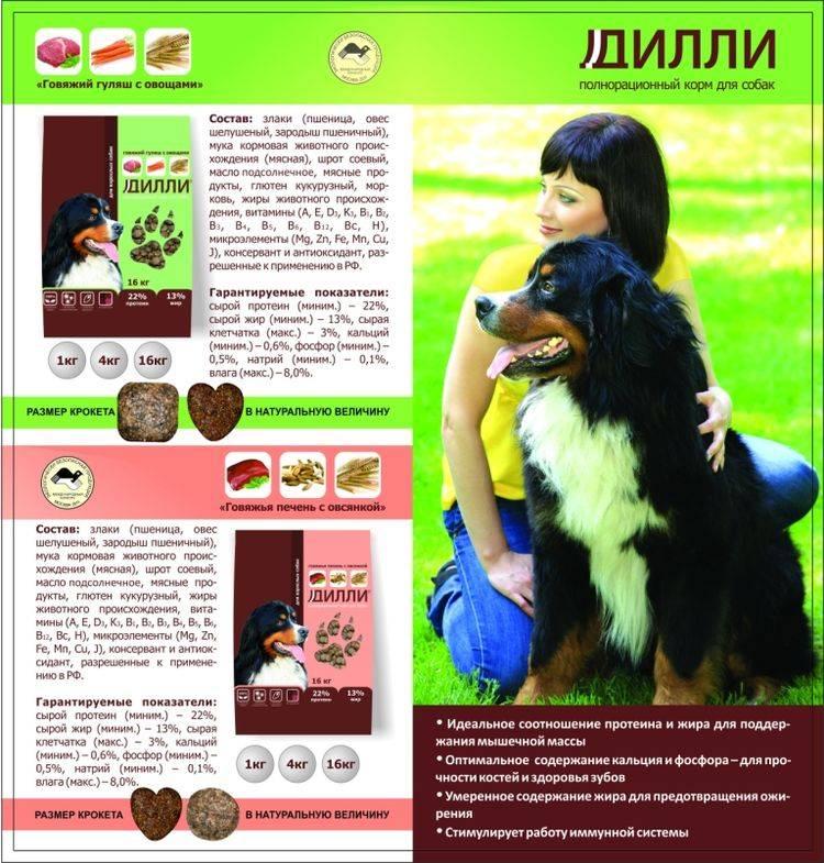Дарлинг - корм для собак: отзывы, цена, состав, сухой