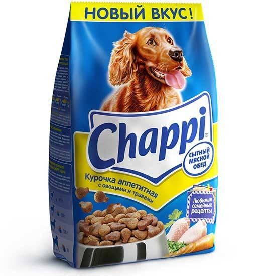Все о корме для собак chappi («чаппи»)