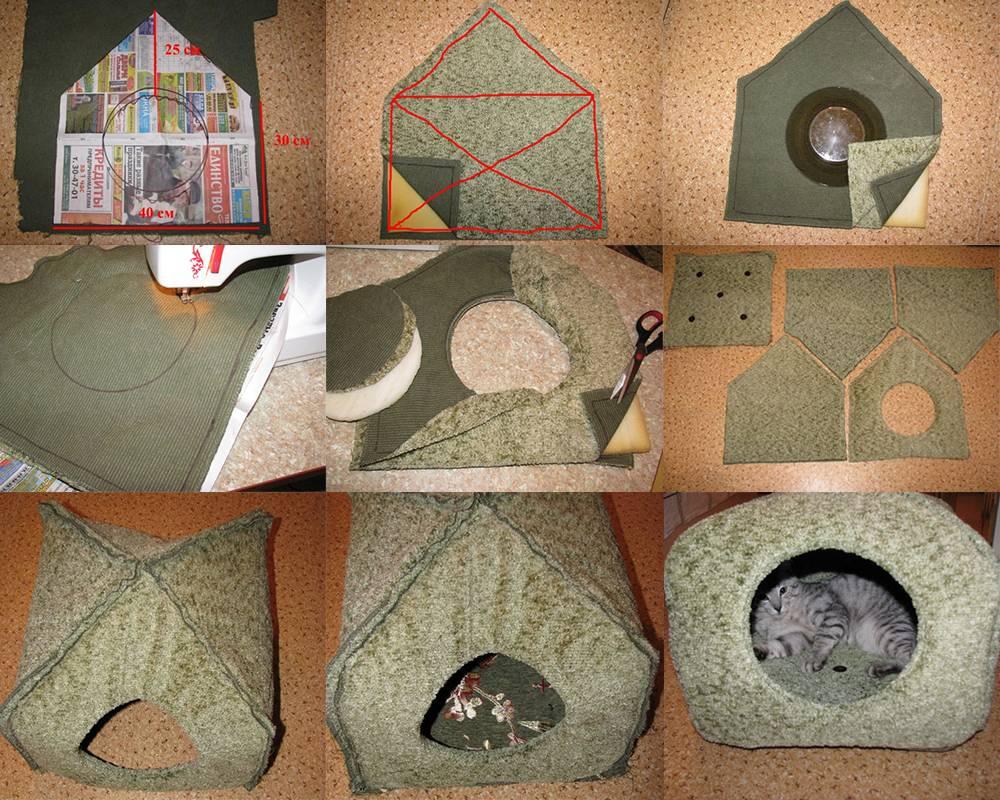 Лежак для кошки своими руками: детальное руководство по созданию