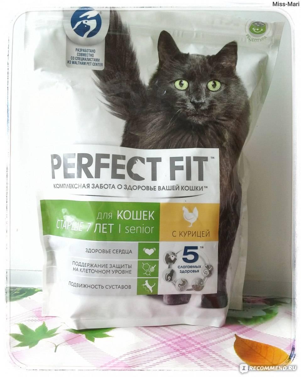 Перфект фит: корм для кошек, сухой, влажный, состав, фото, отзывы