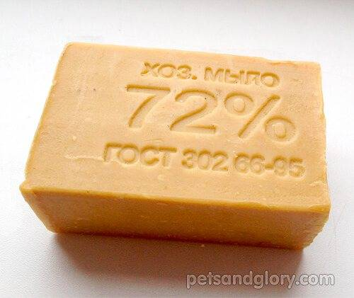Дегтярное мыло для собак. панацея от блох или очередной миф?