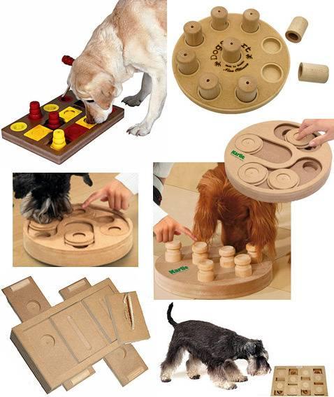 Изготовление самодельных развивающих игрушек для собаки собственноручно