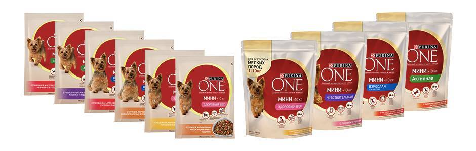 Purina One для собак: корм для мелких пород