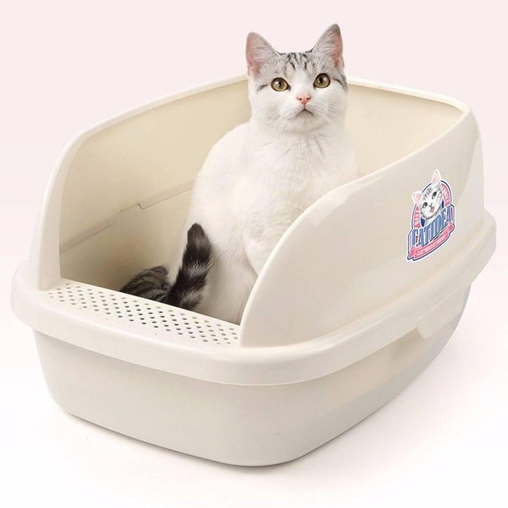 """Какой кошачий туалет лучше: 5 лотков, которые вы захотите купить — обсуждение в группе """"кошки""""   птичка.ру"""