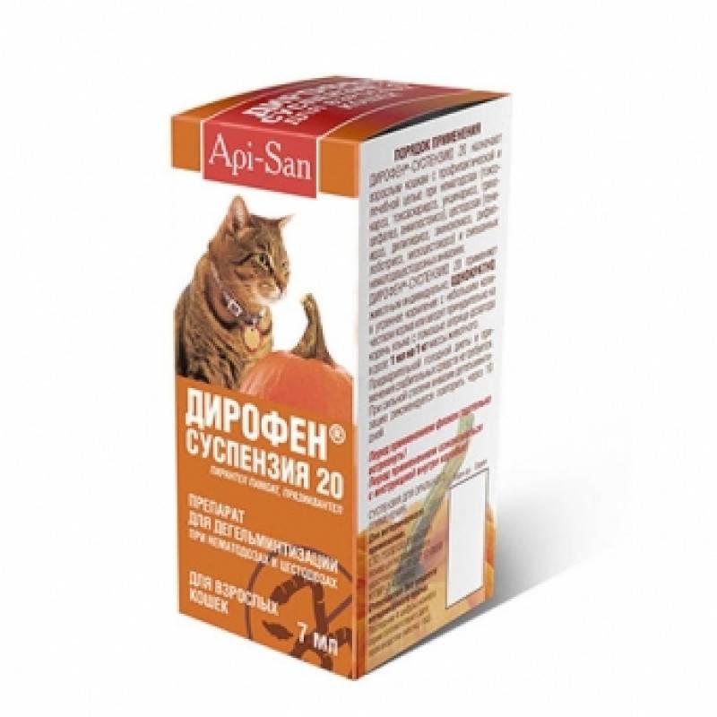Дирофен плюс - таблетки для кошек: инструкция по применению, отзывы