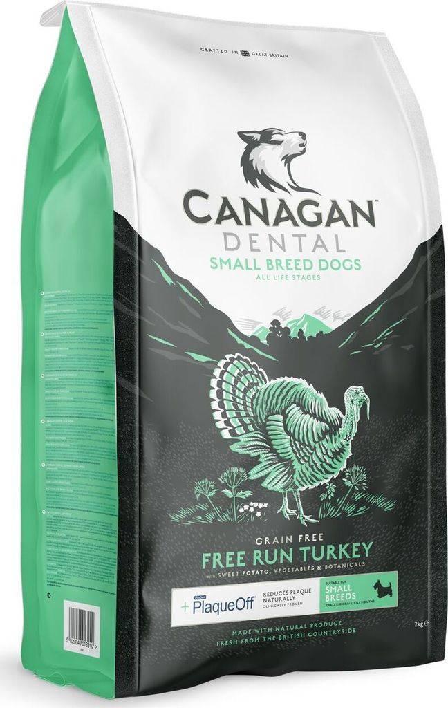 Подробное описание кормов фирмы canagan для маленьких пород собак