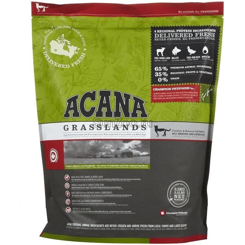 Сухой корм для собак «acana» («акана») — обзор и описание линейки, состав, виды, плюсы и минусы
