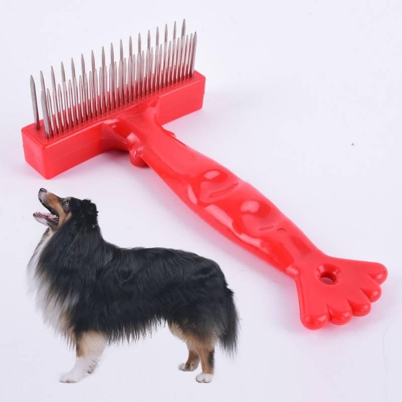 Как расчесать колтуны у собаки