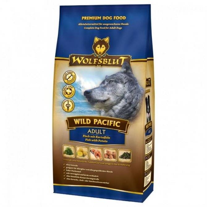 Волчья кровь корм для собак норма кормления