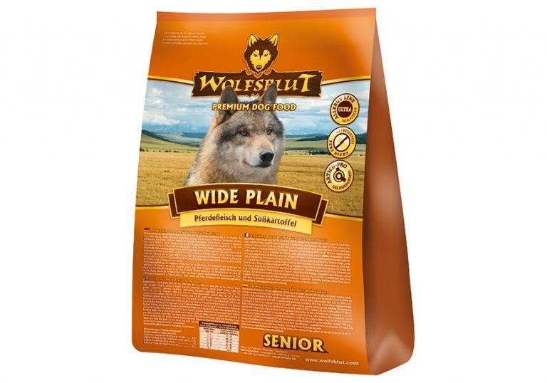 Корм для собак «волчья кровь» (wolfsblut): ассортимент и состав
