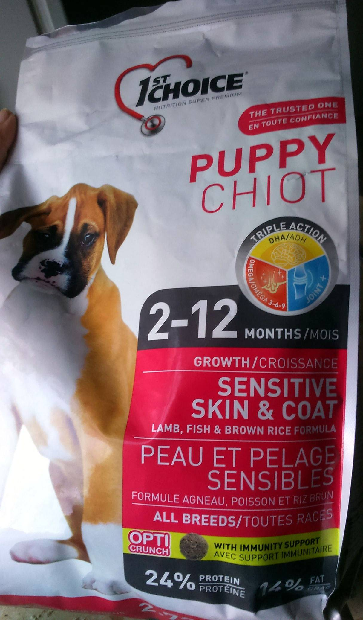 Корм для собак 1st choice: отзывы ветеринаров и состав