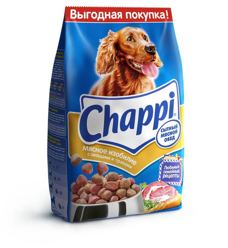 Чаппи (chappi) — корм для собак
