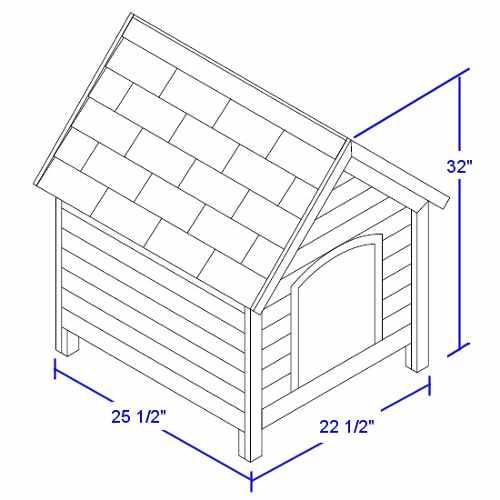 Как построить будку для собаки: описание, чертежи и сборка конструкции своими руками