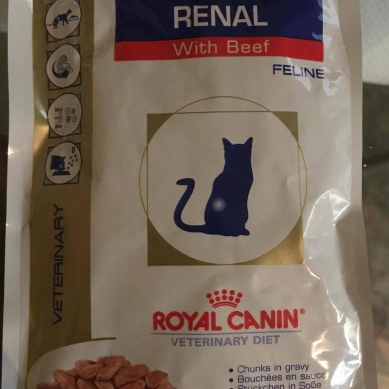Корм для кошек роял канин ренал: состав, инструкция по применению, лечебный эффект