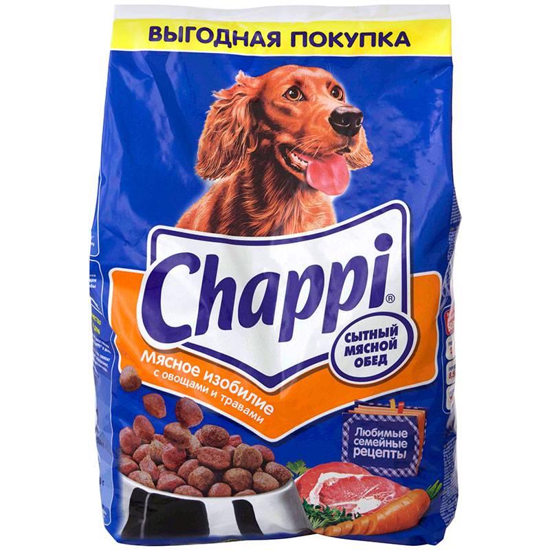 Корм для собак chappi - обзор с пристрастием